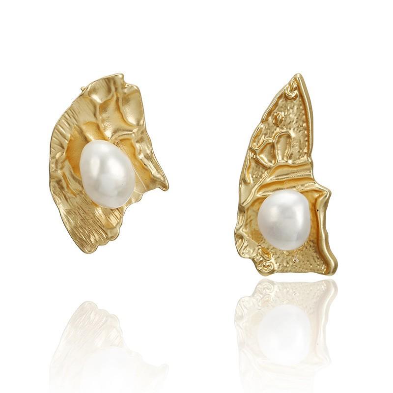 Asymmetrical Queen Earrings