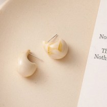 Janelle Earrings (White)