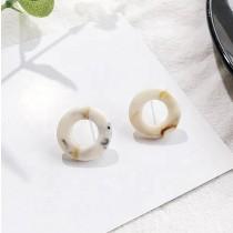Resin O Earrings