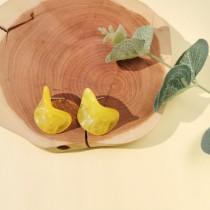 Maria Disc Earrings (Yellow)