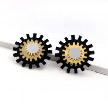 Trioburst Earrings
