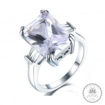 La Reina Silver Engagement Ring