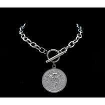 Angel Coin Bracelet