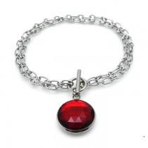 Royal Ruby Chain Bracelet