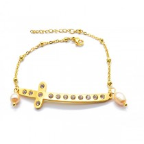 Cute Cross Bracelet