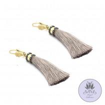Neutral Tassel Earrings