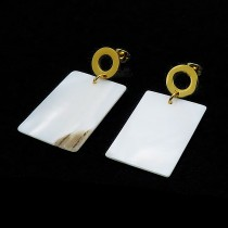 Mother of Pearl Sheet Earring