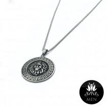 Men's Lion Head Necklace
