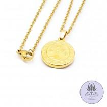 Arbre Coin Necklace