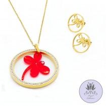 Bright Spring Necklace Set